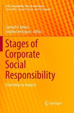Abbildung von Idowu / Vertigans   Stages of Corporate Social Responsibility   1. Auflage   2018   beck-shop.de