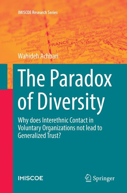 The Paradox of Diversity | Achbari | Softcover reprint of the original 1st ed. 2016, 2018 | Buch (Cover)