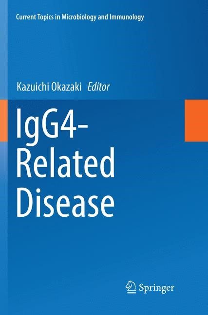 IgG4-Related Disease | Okazaki | Softcover reprint of the original 1st ed. 2017, 2018 | Buch (Cover)