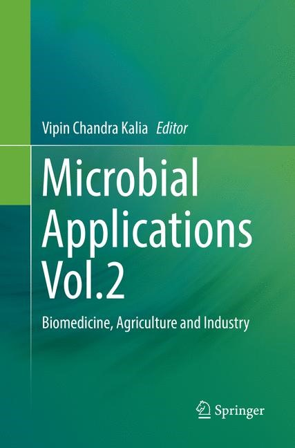 Microbial Applications Vol.2 | Kalia | Softcover reprint of the original 1st ed. 2017, 2018 | Buch (Cover)