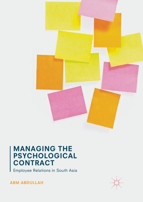 Managing the Psychological Contract | Abdullah | Softcover reprint of the original 1st ed. 2017, 2018 | Buch (Cover)