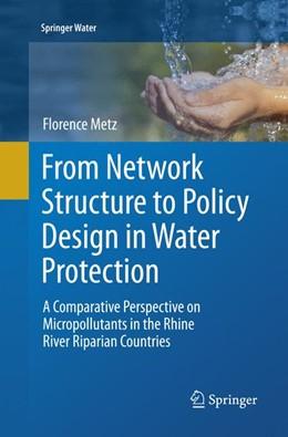 Abbildung von Metz | From Network Structure to Policy Design in Water Protection | 1. Auflage | 2018 | beck-shop.de