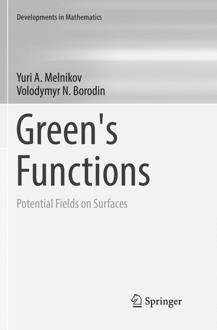 Abbildung von Melnikov / Borodin | Green's Functions | Softcover reprint of the original 1st ed. 2017 | 2018