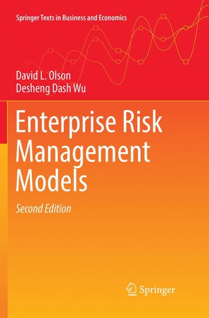 Enterprise Risk Management Models | Olson / Wu | Softcover reprint of the original 2nd ed. 2017, 2018 | Buch (Cover)