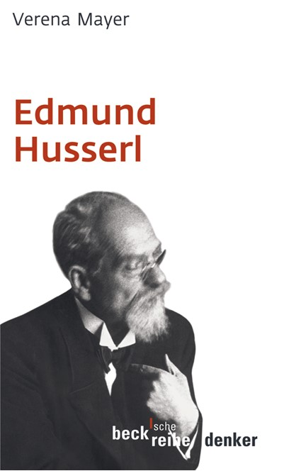 Cover: Verena Mayer, Edmund Husserl