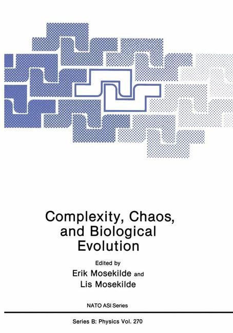 Complexity, Chaos, and Biological Evolution | Mosekilde | 1991, 1992 | Buch (Cover)