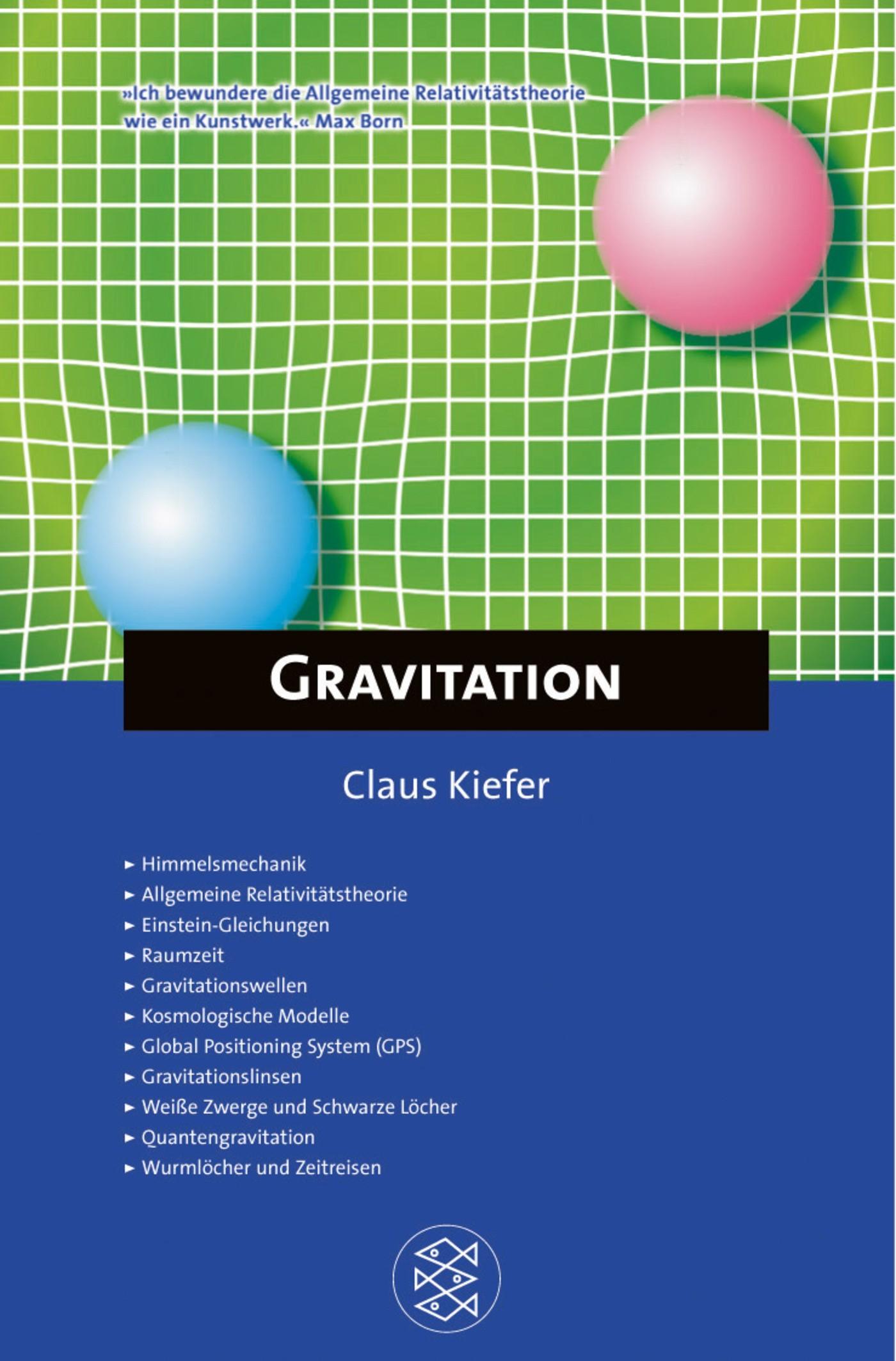 Fischer Kompakt: Gravitation | Kiefer, 2003 | Buch (Cover)