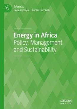 Abbildung von Adesola / Brennan   Energy in Africa   1. Auflage   2018   beck-shop.de