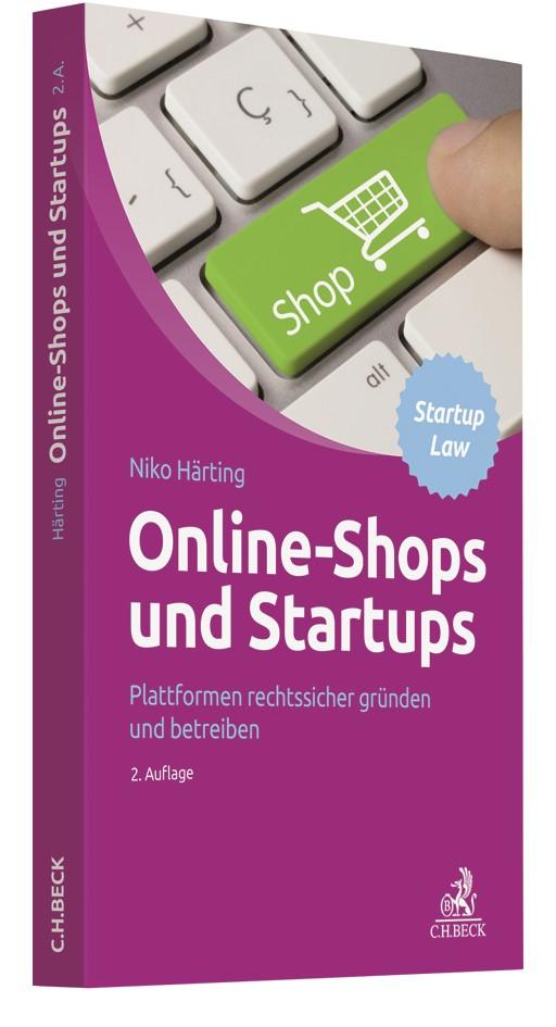 Online-Shops und Startups   Härting   2. Auflage, 2019   Buch (Cover)