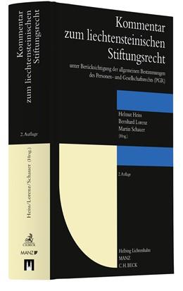 Abbildung von Schauer / Heiss / Lorenz (Hrsg.) | Kommentar zum Liechtensteinischen Stiftungsrecht | 2. Auflage | 2020