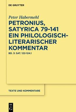 Abbildung von Habermehl | Bellum civile (Sat. 119–124) | 1. Auflage | 2021 | beck-shop.de