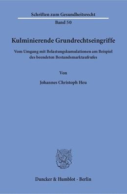 Abbildung von Heu | Kulminierende Grundrechtseingriffe | 2018 | Vom Umgang mit Belastungskumul... | 50