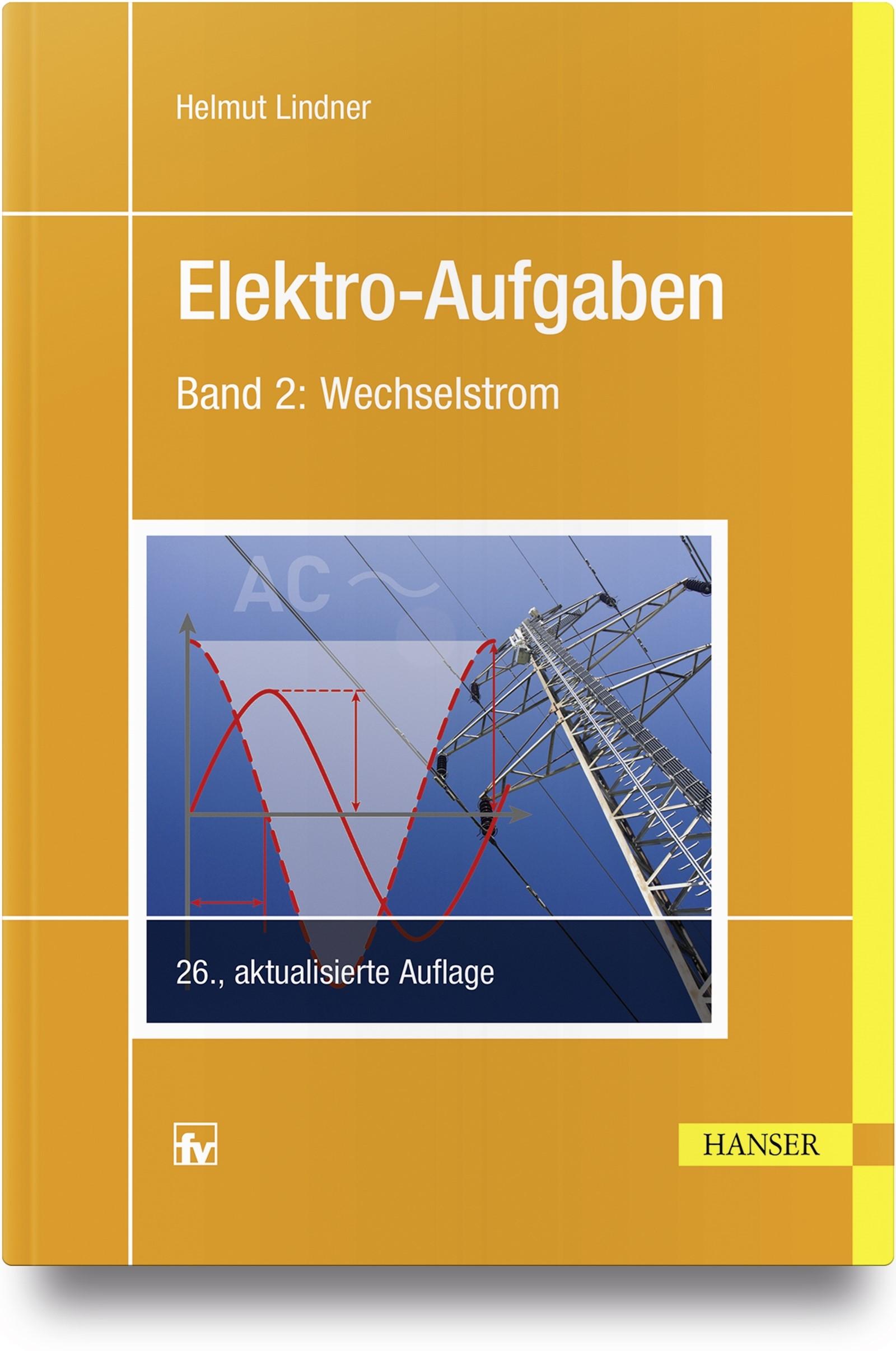 Elektro-Aufgaben 2 | Lindner | 26., aktualisierte Auflage, 2018 | Buch (Cover)