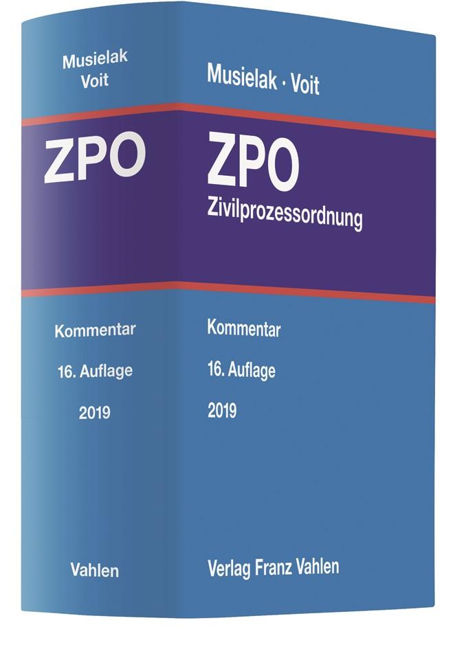 Zivilprozessordnung: ZPO | Musielak / Voit | 16. Auflage, 2019 | Buch (Cover)