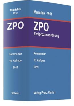 Abbildung von Musielak / Voit | Zivilprozessordnung: ZPO | 16., neubearbeitete Auflage | 2019