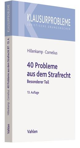 Abbildung von Hillenkamp / Cornelius   40 Probleme aus dem Strafrecht   13. Auflage   2020   Besonderer Teil