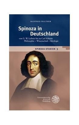 Abbildung von Walther | Spinoza in Deutschland | 1. Auflage | 2018 | beck-shop.de