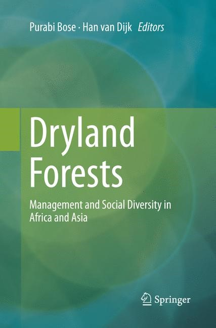 Dryland Forests | Bose / van Dijk | Softcover reprint of the original 1st ed. 2016, 2018 | Buch (Cover)