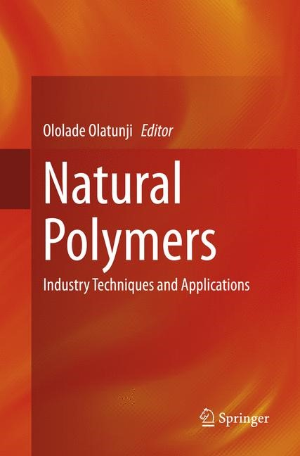 Natural Polymers   Olatunji   Softcover reprint of the original 1st ed. 2016, 2018   Buch (Cover)