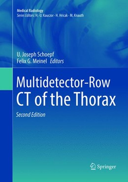 Abbildung von Schoepf / Meinel | Multidetector-Row CT of the Thorax | Softcover reprint of the original 2nd ed. 2016 | 2018