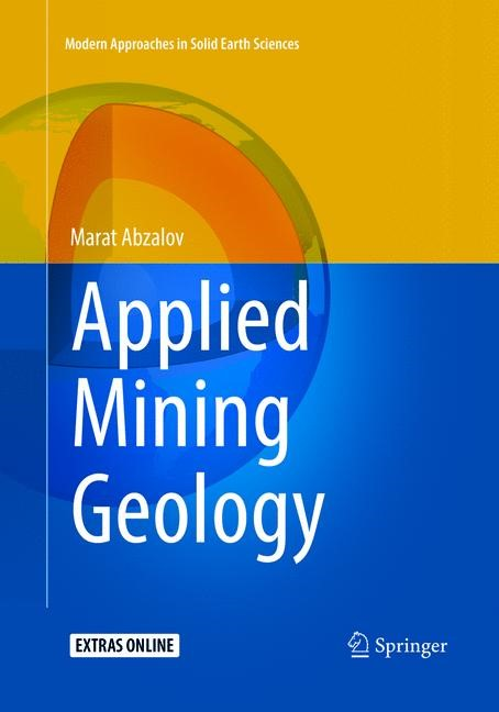 Applied Mining Geology | Abzalov | Softcover reprint of the original 1st ed. 2016, 2018 | Buch (Cover)