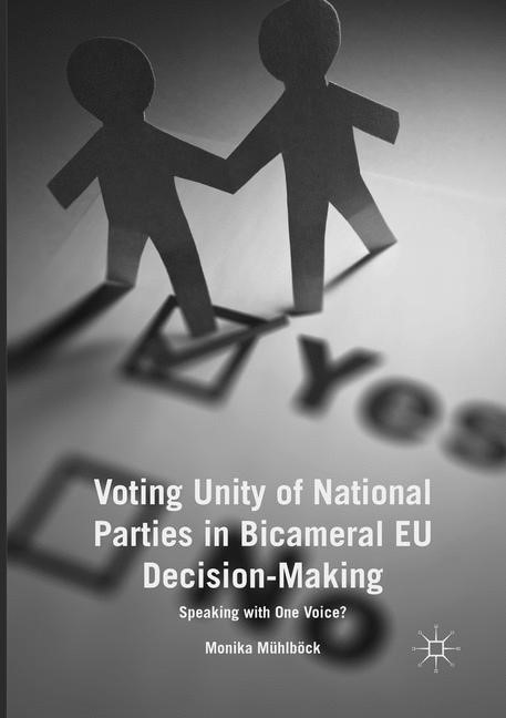 Voting Unity of National Parties in Bicameral EU Decision-Making | Mühlböck | Softcover reprint of the original 1st ed. 2017, 2018 | Buch (Cover)