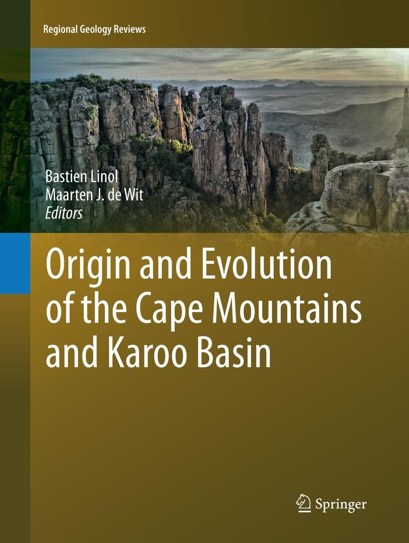 Abbildung von Linol / de Wit   Origin and Evolution of the Cape Mountains and Karoo Basin   Softcover reprint of the original 1st ed. 2016   2018