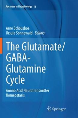 Abbildung von Schousboe / Sonnewald | The Glutamate/GABA-Glutamine Cycle | Softcover reprint of the original 1st ed. 2016 | 2018 | Amino Acid Neurotransmitter Ho... | 13