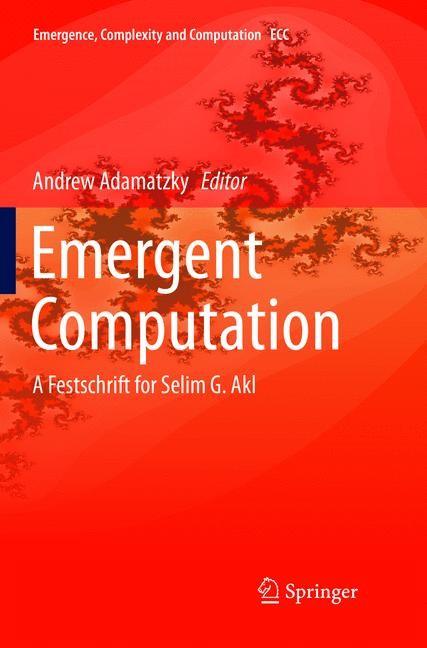 Emergent Computation | Adamatzky | Softcover reprint of the original 1st ed. 2017, 2018 | Buch (Cover)