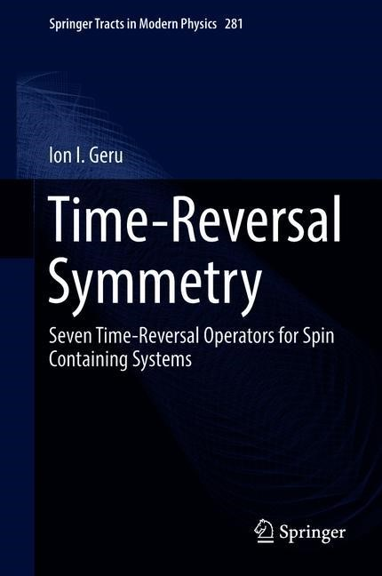 Abbildung von Geru | Time-Reversal Symmetry | 1st ed. 2018 | 2019