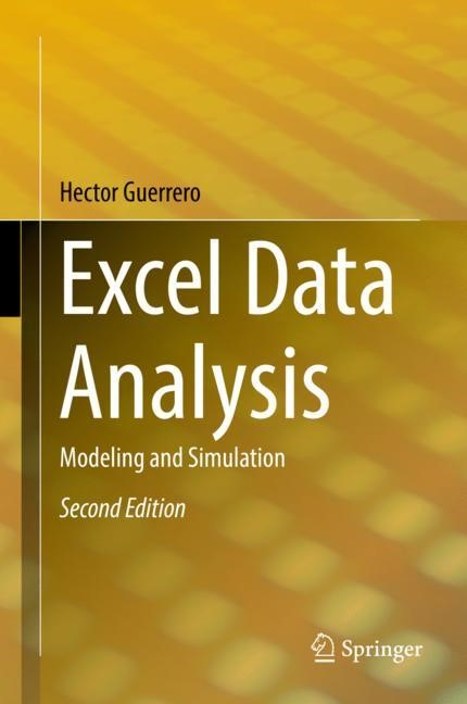 Excel Data Analysis | Guerrero | 2nd ed. 2019, 2018 | Buch (Cover)