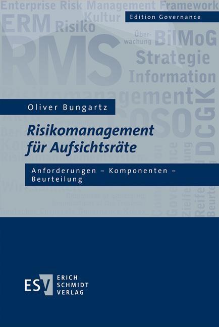 Risikomanagement für Aufsichtsräte   Bungartz, 2018   Buch (Cover)