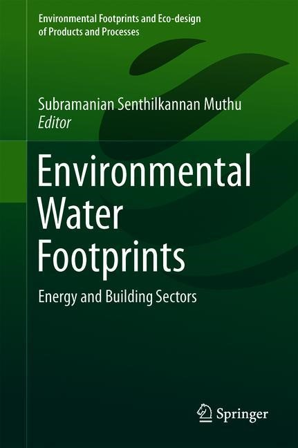 Environmental Water Footprints | Muthu | 1st ed. 2019, 2018 | Buch (Cover)