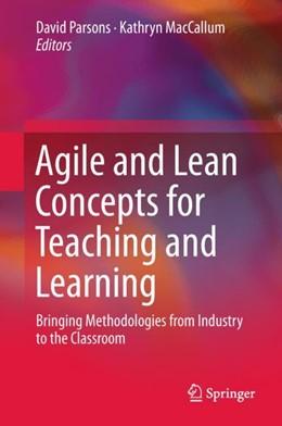 Abbildung von Parsons / MacCallum   Agile and Lean Concepts for Teaching and Learning   1. Auflage   2018   beck-shop.de