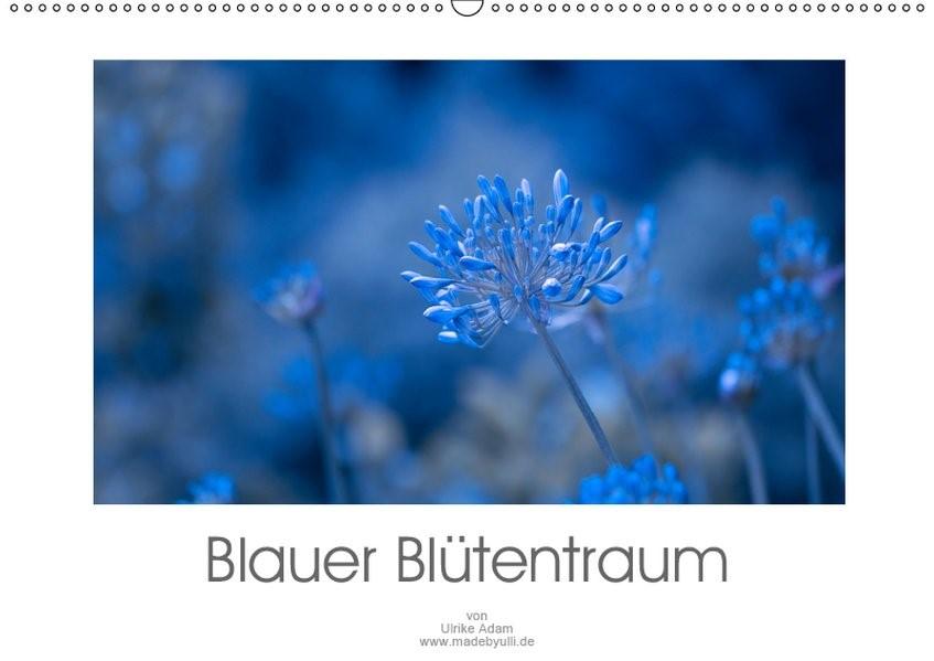 Abbildung von Adam   Blauer Blütentraum (Wandkalender 2019 DIN A2 quer)   1. Edition 2018   2018