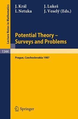Abbildung von Kral / Lukes / Netuka / Vesely   Potential Theory, Surveys and Problems   1988   Proceedings of a Conference he...   1344