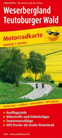 Abbildung von Motorradkarte Weserbergland - Teutoburger Wald 1:200 000 | 5. Auflage | 2018 | Mit Ausflugszielen, Einkehr- &...