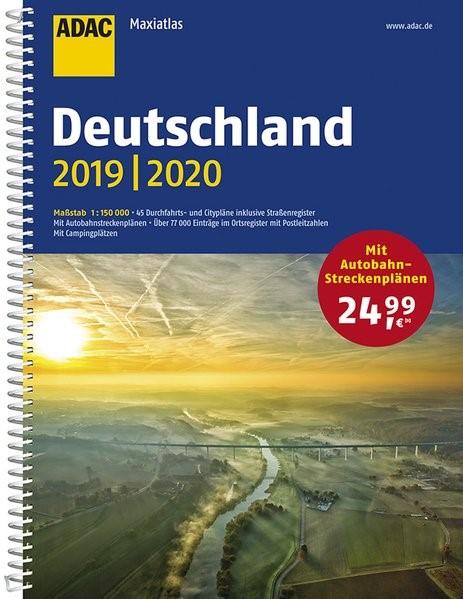 ADAC Maxiatlas Deutschland 2019/2020 1:150 000, 2018 | Buch (Cover)