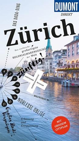 Abbildung von Krause | DuMont direkt Reiseführer Zürich | 1. Auflage | 2019 | Mit großem Cityplan