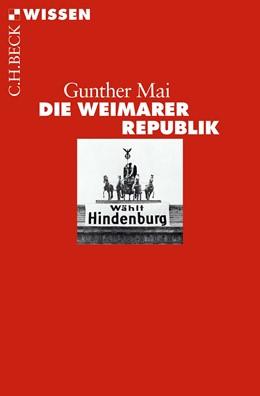 Abbildung von Mai | Die Weimarer Republik | 3. Auflage | 2018 | 2477