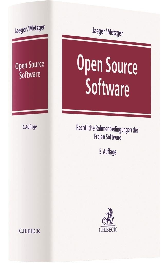 Open Source Software | Jaeger / Metzger | 5. Auflage, 2019 | Buch (Cover)