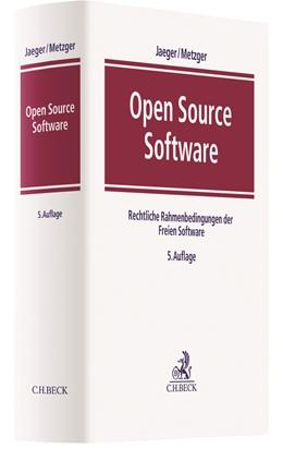 Abbildung von Jaeger / Metzger | Open Source Software | 5. Auflage | 2020 | Rechtliche Rahmenbedingungen d...