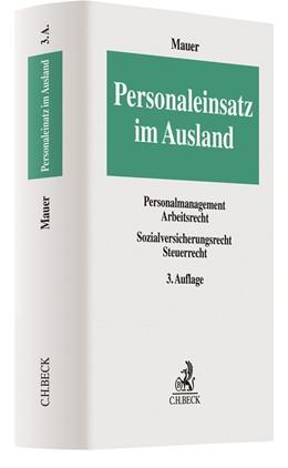 Abbildung von Mauer | Personaleinsatz im Ausland | 3. Auflage | 2019 | beck-shop.de