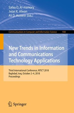 Abbildung von Al-mamory / Alwan | New Trends in Information and Communications Technology Applications | 1. Auflage | 2018 | 938 | beck-shop.de