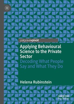 Abbildung von Rubinstein | Applying Behavioural Science to the Private Sector | 1. Auflage | 2019 | beck-shop.de