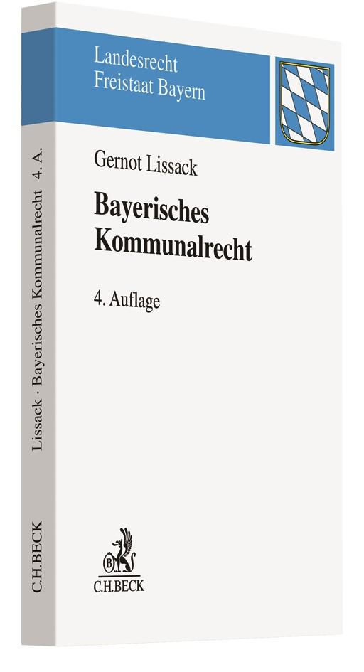 Bayerisches Kommunalrecht | Lissack | 4. Auflage, 2019 | Buch (Cover)