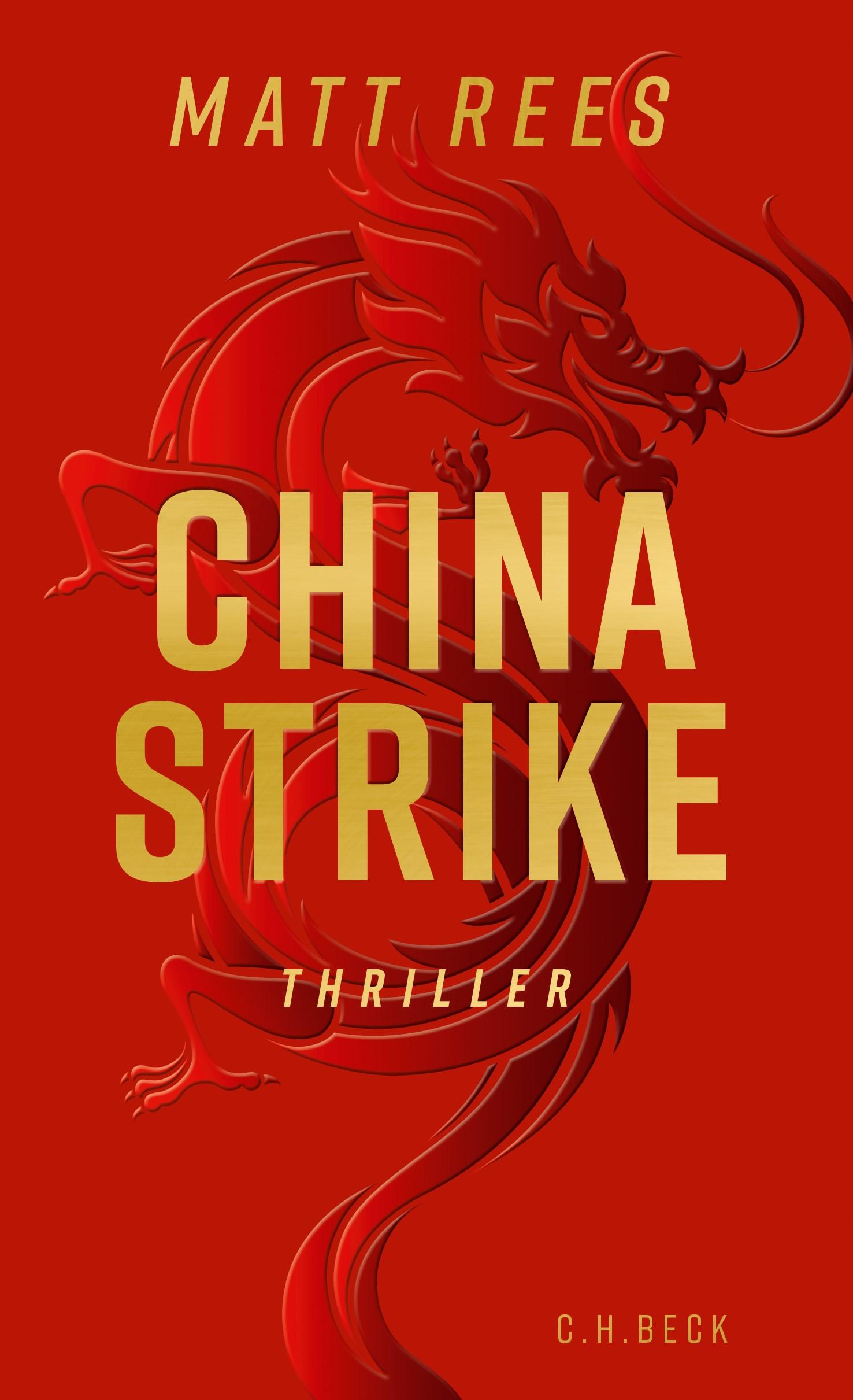 China Strike | Rees, Matt, 2019 | Buch (Cover)