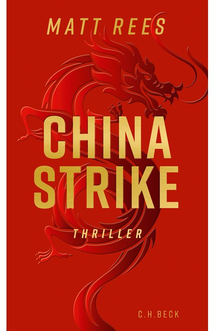 Cover: Matt Beynon Rees, China Strike