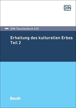 Abbildung von Erhaltung des kulturellen Erbes 2 | 1. Auflage | 2018 | 410 | beck-shop.de