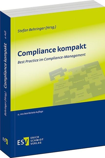 Compliance kompakt | Behringer (Hrsg.) | 4., neu bearbeitete Auflage, 2018 | Buch (Cover)